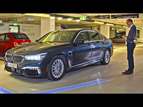 BMW 7 Series 2018 Automated Parking