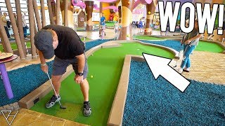 THEY HAVE NEVER MADE A MINI GOLF HOLE IN ONE LIKE THIS BEFORE!
