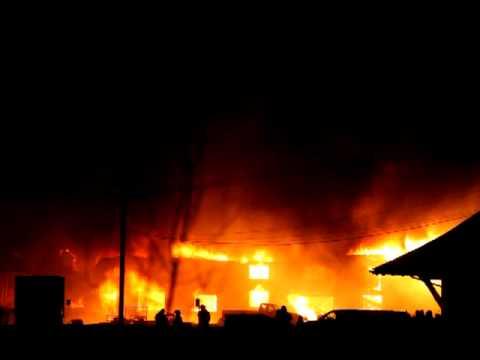 Sackville New Brunswick Fire Jan18:12 Old Foundry - YouTube