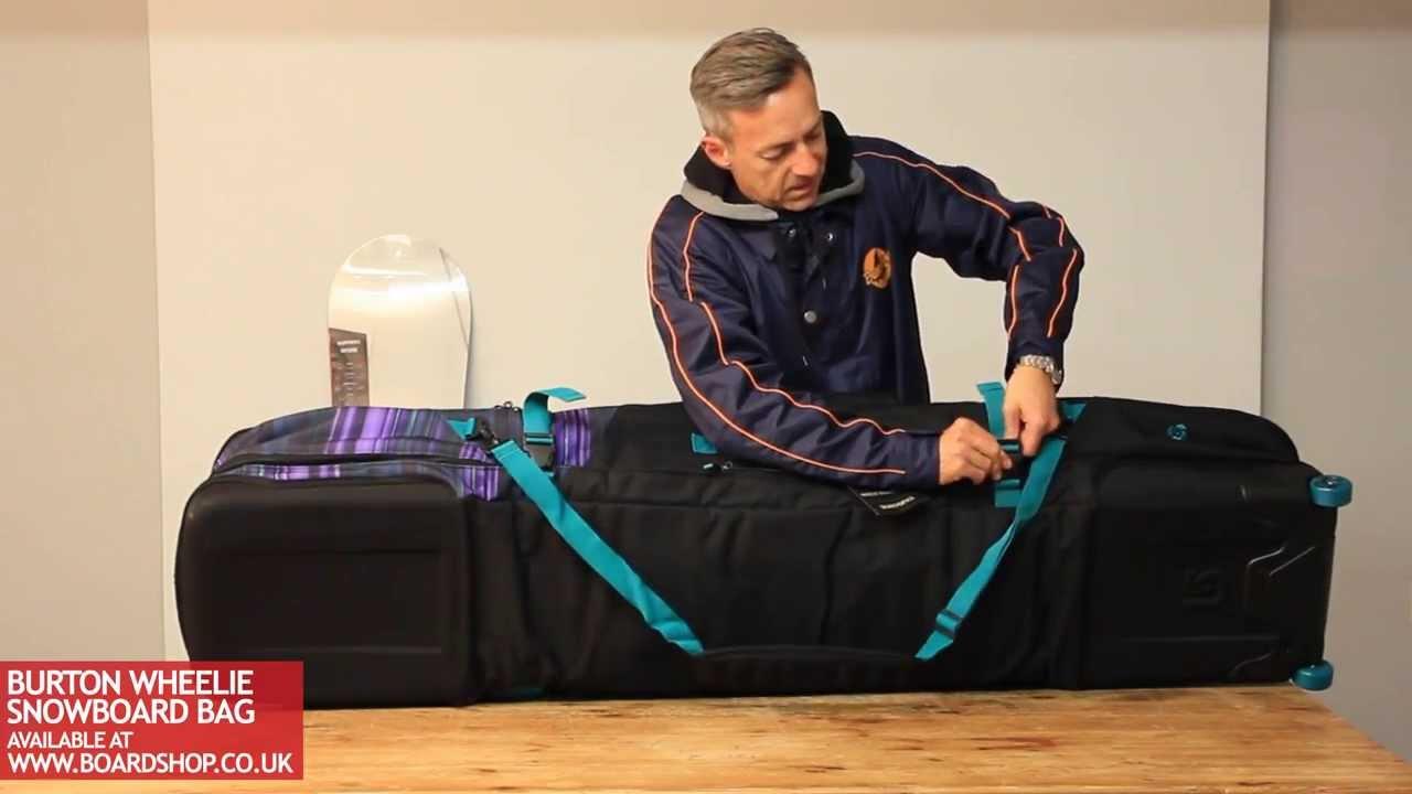 Burton Wheelie Snowboard Bag Review