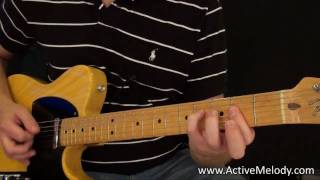 Video Rock / Blues Rhythm Guitar Lesson (Key of A) download MP3, 3GP, MP4, WEBM, AVI, FLV November 2017