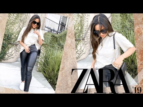 [VIDEO] - HUGE ZARA TRY ON HAUL | FALL OUTFITS 2019 1