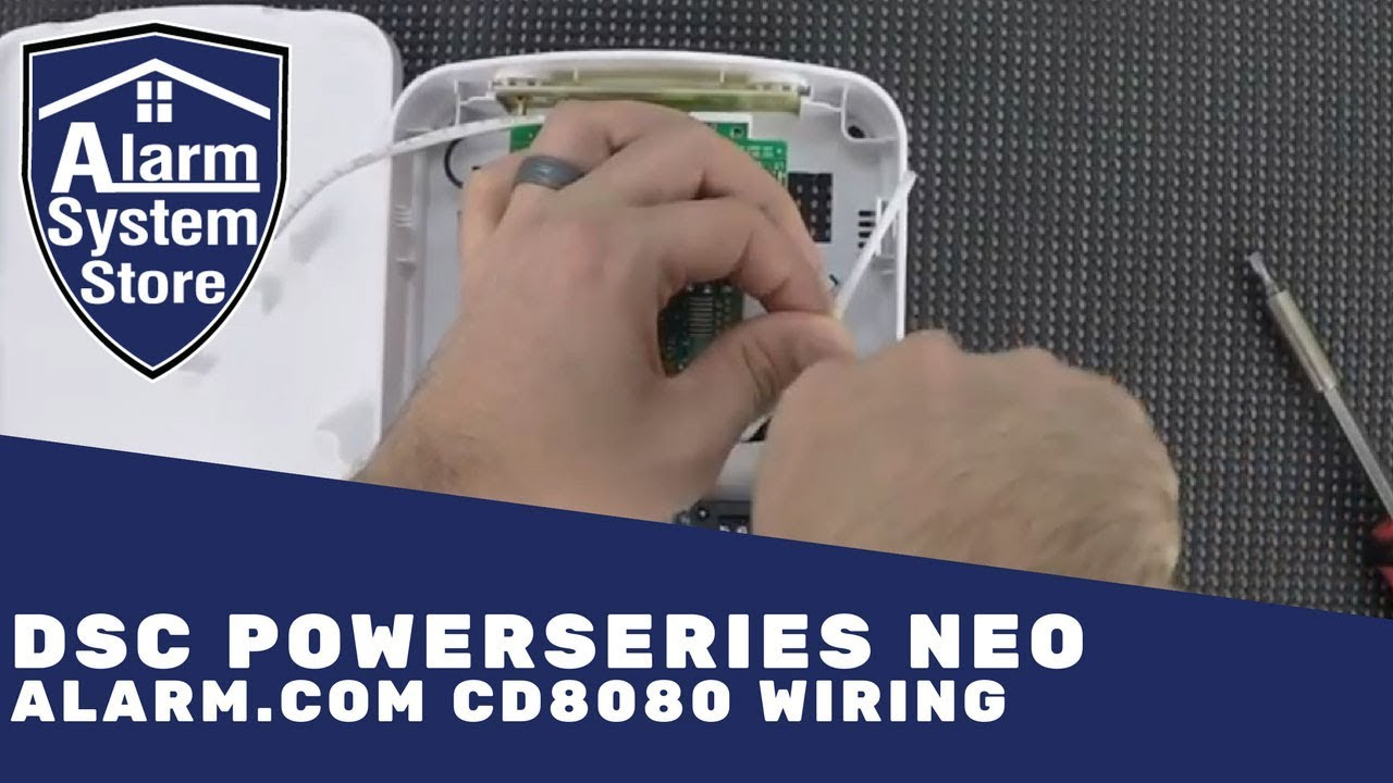 Dsc Powerseries Neo Alarmcom Module Wiring Where Do You Hook The An Alarm System Wires Store