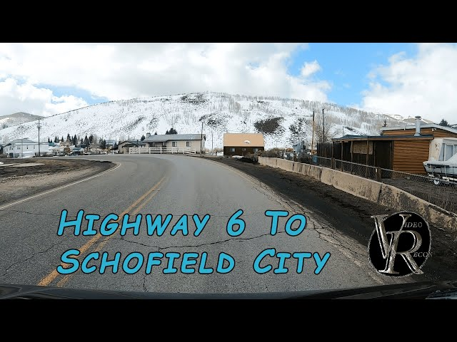 Highway 6 To Schofield City - Amazing On Or Off Road Tour