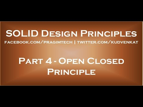 open-closed-principle