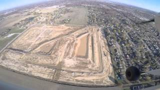 Flying over the Bellevue subdivision development 11/8/2015