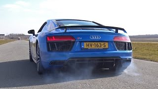 FAST RIDE in the 2016 Audi R8 V10 Plus!!