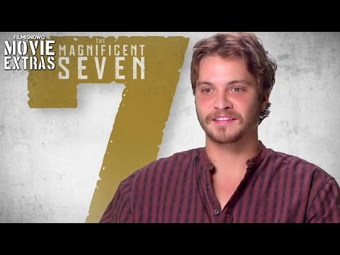 The Magnificent Seven  Onset visit with Luke Grimes