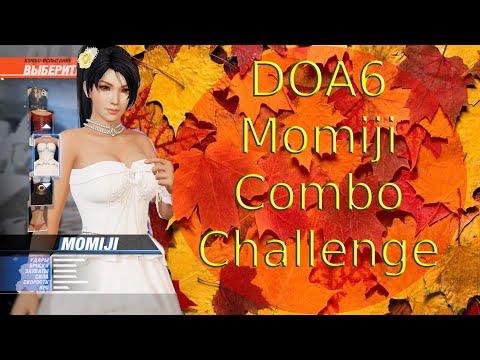 DOA6 Momiji Combo Challenge  Happy Wedding costume
