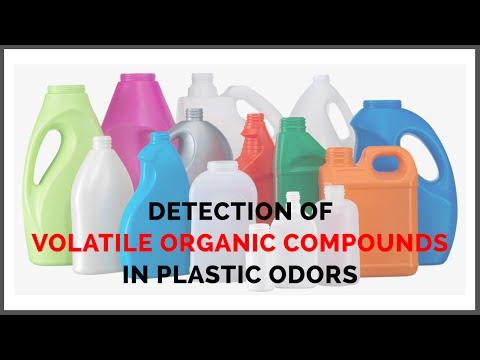 Detection Of Volatile Organic Componds(VOCs) In Plastic Odors