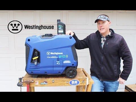 NEW: Dual Fuel Westinghouse iGen 4500DF Initial Setup & Run - Gas & Propane  Inverter Generator