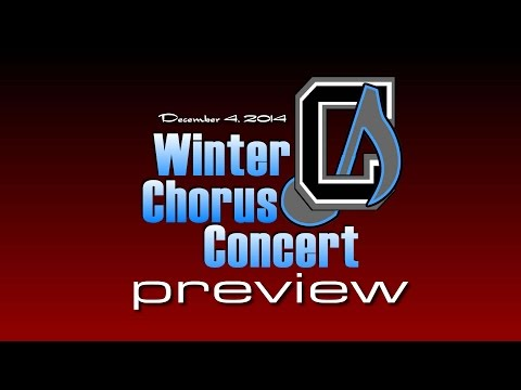 Chickahominy Middle School Winter Chorus Concert 2014 - Preview