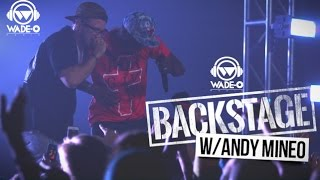 Wade-O Radio Backstage: Andy Mineo on Preparing for BET Hip-Hop Awards Cypher