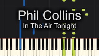 🙌SING ALONG! 🙌In The Air Tonight Phil Collins Piano Cover