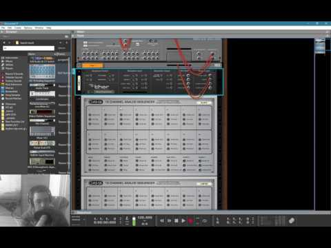 ratchet sequencer using the as-16 analog step sequencer (#MS4) @reasonexperts