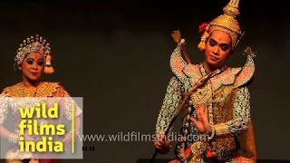 Ramayana dance and drama by Thailand performers in India