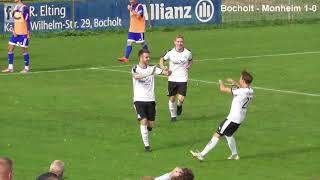 6. Spieltag: 1. FC Bocholt - 1. FC Monheim 1:0 (0:0)