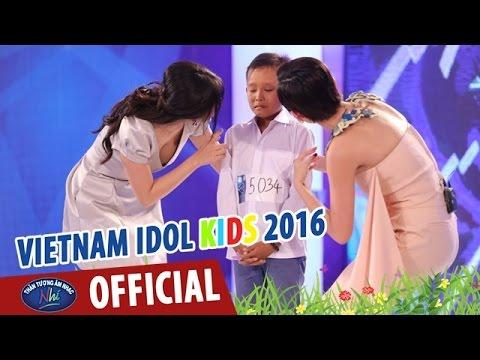 VIETNAM IDOL KIDS - THẦN TƯỢNG ÂM NHẠC NHÍ 2016 - LÝ ĐẤT GIỒNG & BÀ NĂM - HỒ VĂN CƯỜNG
