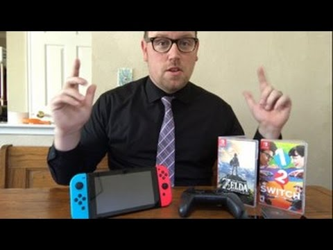 Nintendo Switch Review and Give away info