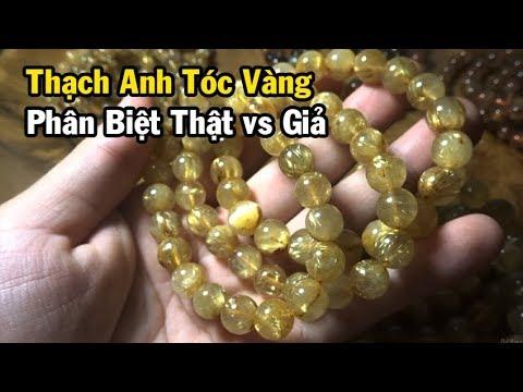 Phân Biệt Thạch Anh Tóc Vàng Thật vs Giả? Cách Chọn Hàng Chuẩn | Mộc Hương