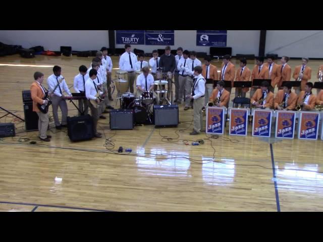 Subiaco Jazz Ensemble Performance 2/2/2016 Part 2