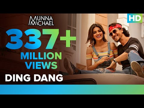 Ding Dang - Video Song | Munna Michael 2017 | Tiger Shroff & Nidhhi Agerwal | Javed - Mohsin