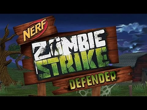 NERF Zombie Strike Defender - Free Nerf Game App by Hasbro, iPad, Android, iPhone, Kindle Fire