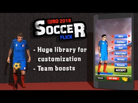 Euro 2016 Soccer Flick (by Imperium Multimedia Games) Android Gameplay [HD]