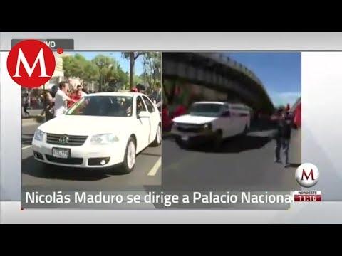 Nicolás Maduro se dirige a Palacio Nacional