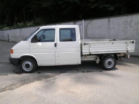 volkswagen transporter t4 1992 2 4d youtube. Black Bedroom Furniture Sets. Home Design Ideas