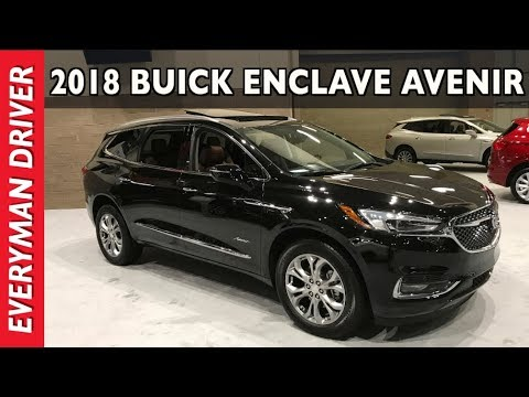 2018 Buick Enclave Avenir Walkaround Overview at Seattle Auto Show