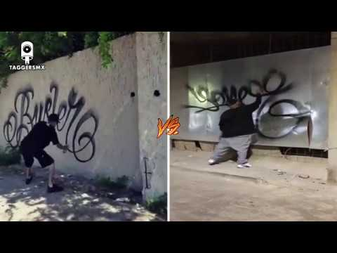 BUSTER VS YONER ONE - TAGGERS MX - 13