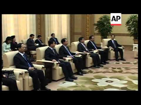 Chinese delegation meets Kim Yong Nam