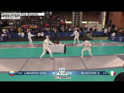 FE M E Individual Bogota COL Grand Prix 2017 T64 20 blue MUNZONE ITA vs LIMARDO GASCON VEN
