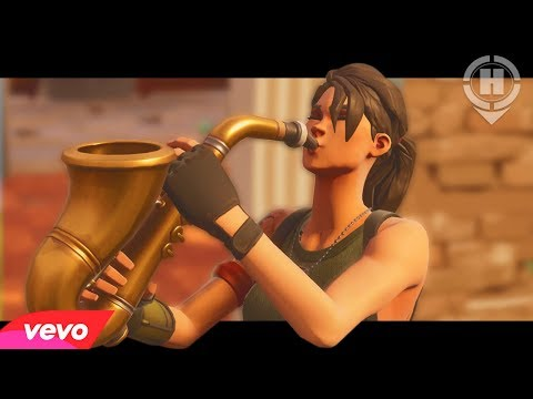 """""""Phone It In"""" - Saxophone Emote Song - Music Video (Fortnite Battle Royale)"""