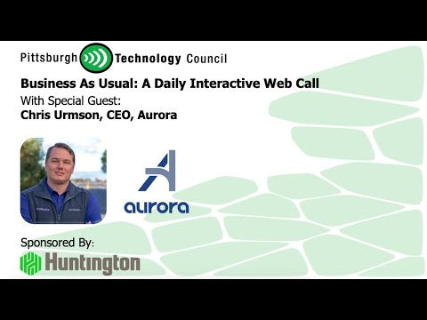 Aurora CEO Chris Urmson Joins Business as Usual