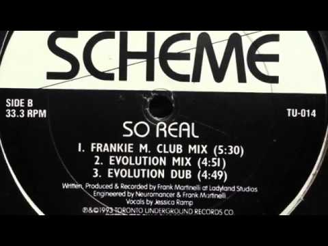 Scheme -- So Real (Frankie M. Club Mix)