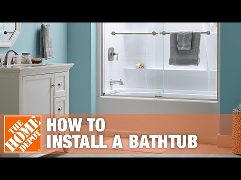 Bathtub Replacement | How to Install a Bathtub | The Home Depot