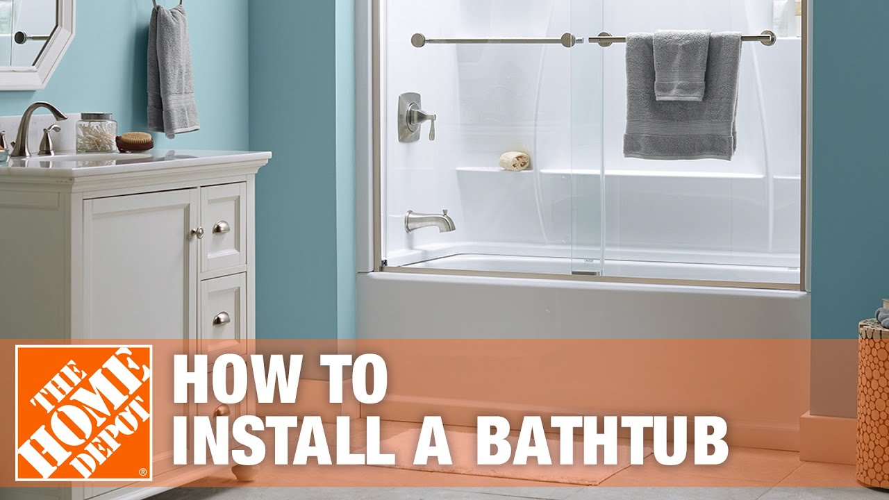 Bathtub Replacement How To Install A