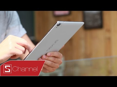 Schannel - Hands on Nexus 9 - The first video on youtube