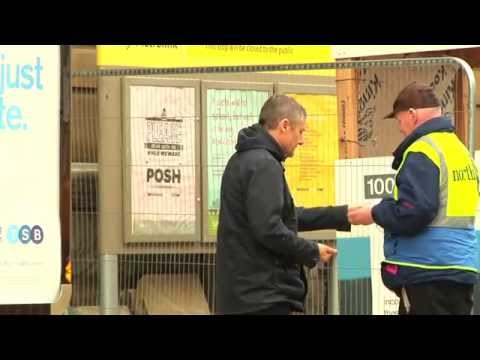 Big Issue North - A day in the life of a vendor