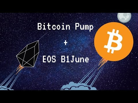 Bitcoin $9,000 | EOS Pumping Block One Announcement