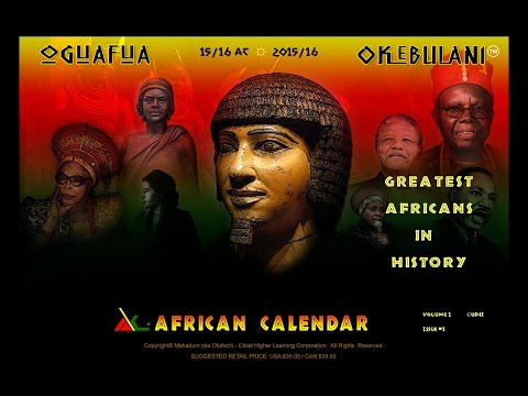 African Calendar Book Series - An introduction