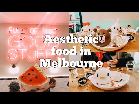 MELBOURNE'S 6 AESTHETIC FOOD SPOTS! | VLOG |