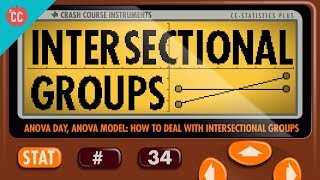 ANOVA Part 2: Dealing with Intersectional Groups: Crash Course Statistics #34