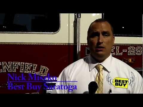 Best Buy Saratoga Heroes Night Aug. 2012