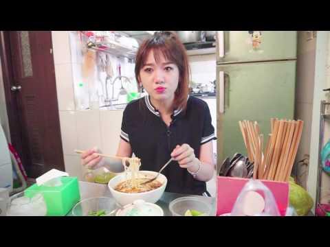 Hari Won - Siêu Ham Ăn - Bún Bò Trần Huy Liệu (Korean/English/VN Subtitles)