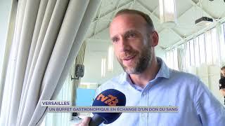 Yvelines | Versailles : Un buffet gastronome en échange d'un don du sang