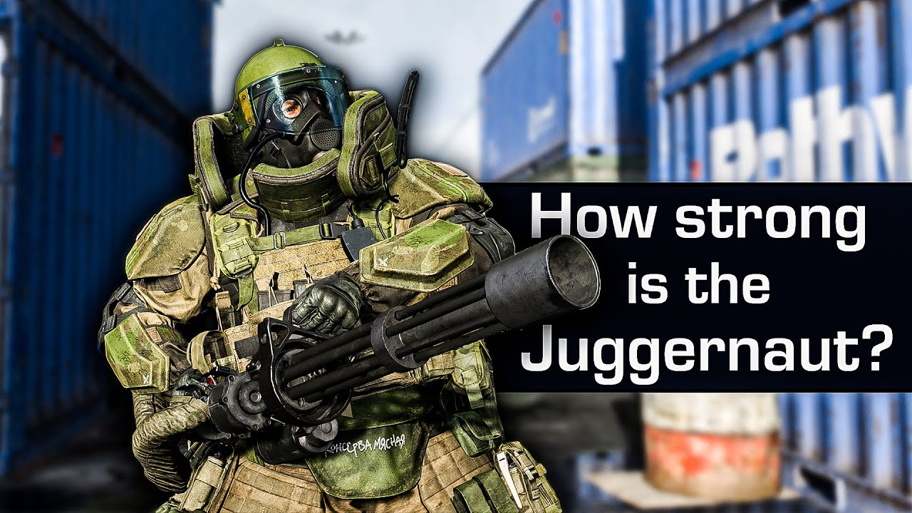 How Strong Is The Juggernaut In Modern Warfare Youtube