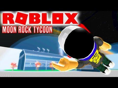 MINER I RUMMET! - Roblox Moon Rock Tycoon Dansk